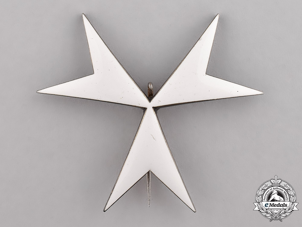 Austria, Empire. An Order of the Knight's of Malta, Donatus of Justice Breast Star, c.1870