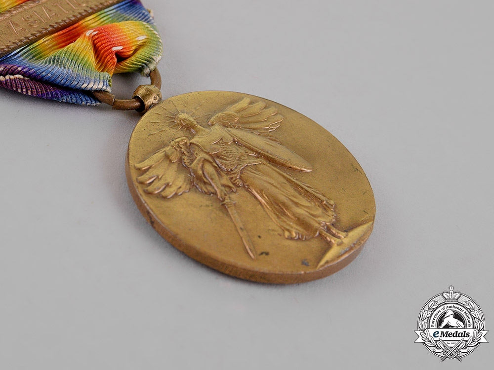United States. A World War I Victory Medal, Asiatic