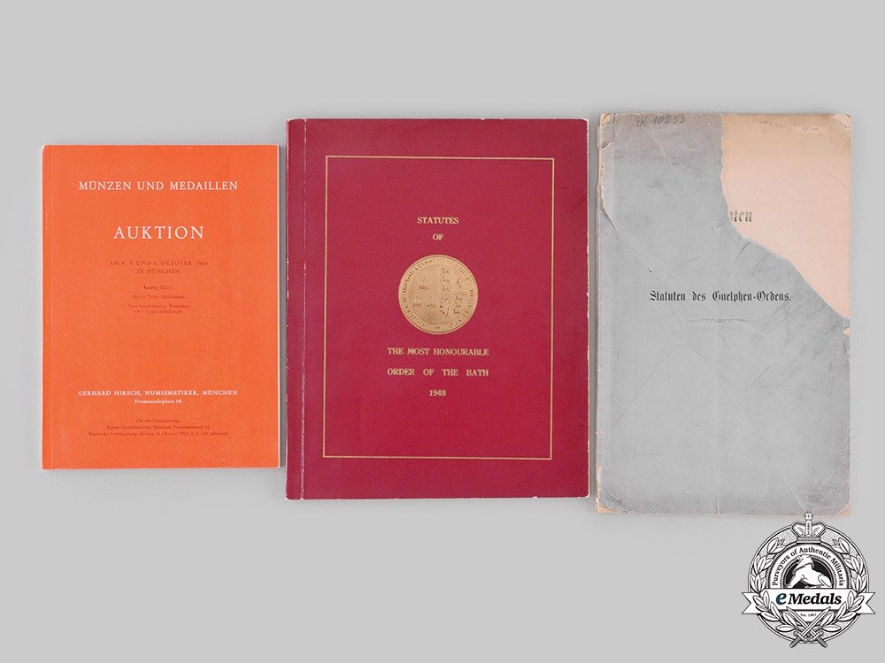 United Kingdom; Germany, Hanover, Federal Republic. Three Publications from the Library of Dr.Goodwin