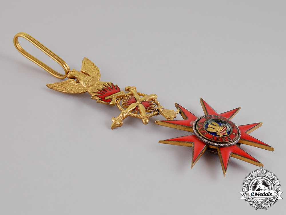 San Paolo. An Honour Cross of the Noble and Ancient Rione del Palio De Asti, c.1925