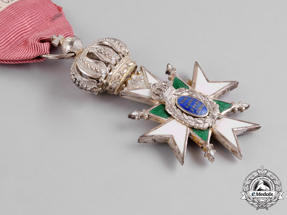 Saxe-Weimar. An Order of the White Falcon, Second Class Knight, c.1910