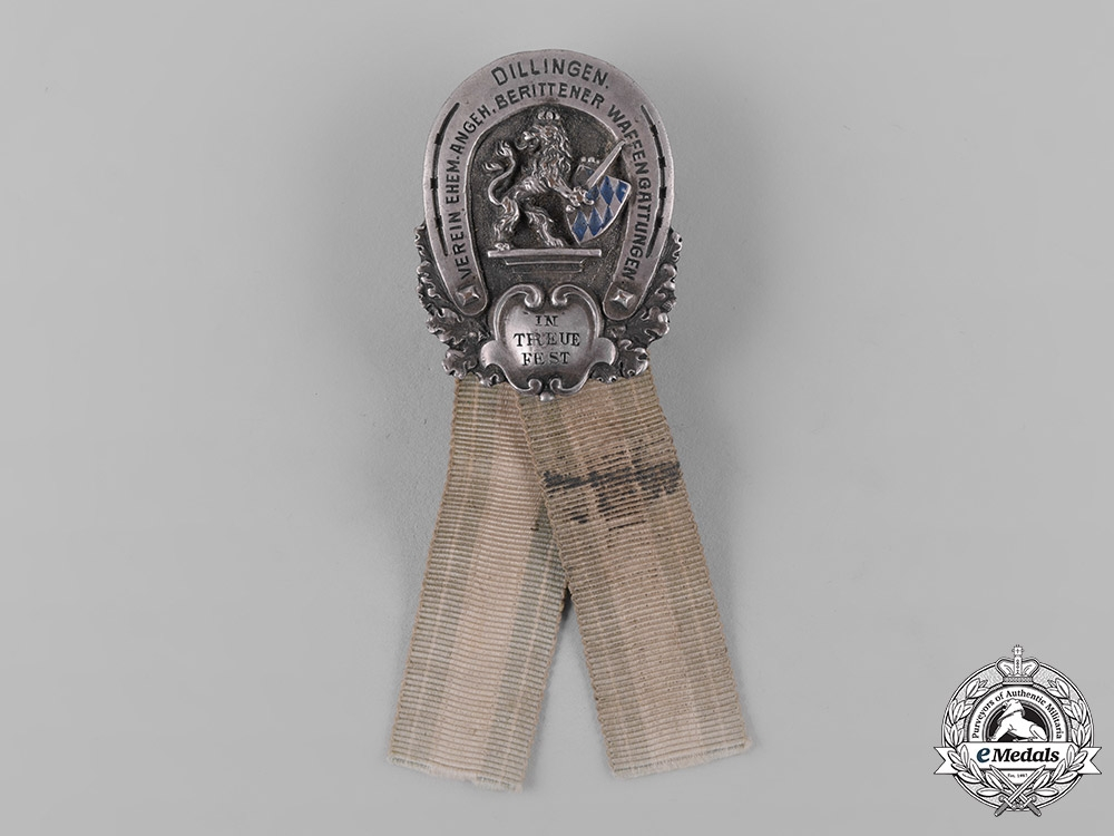 Germany, Weimar Republic. A Bavarian Veterans Association Badge by G. Lindner