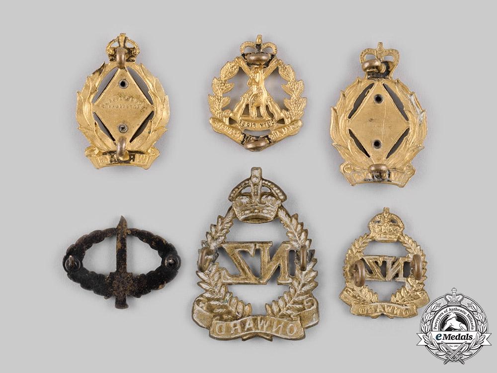 Australia, New Zealand.   Six Badges & Insignia
