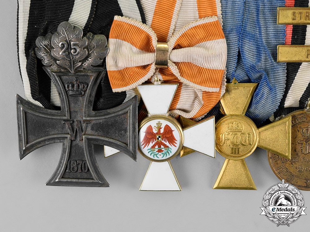 Prussia. The Fine Awards of Commander Theodor August Adolf Krause
