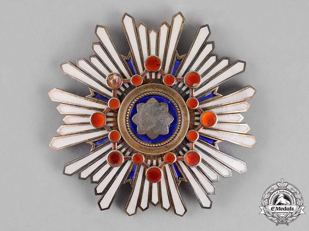 Japan, Empire. An Order of the Sacred Treasure, First Class Grand Cross, c. 1915
