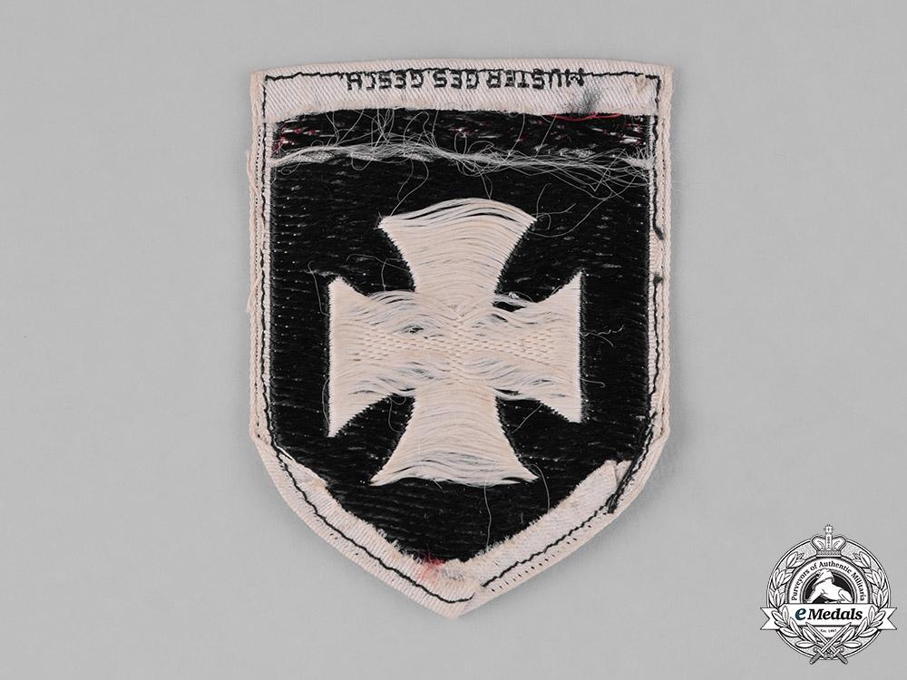 Germany, Weimar. A Stahlhelm Thüringen (Thuringia) Sleeve Patch