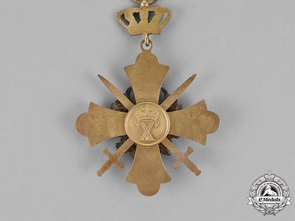 Greece, Kingdom. An Order of the Phoenix, Military Division, Commander, c.1945
