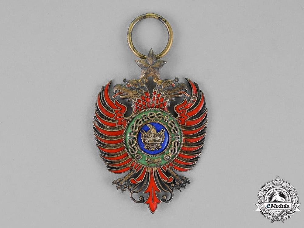 Albania, Italian Protectorate. An Order of Scanderbeg, Grand Officer Badge, c.1940