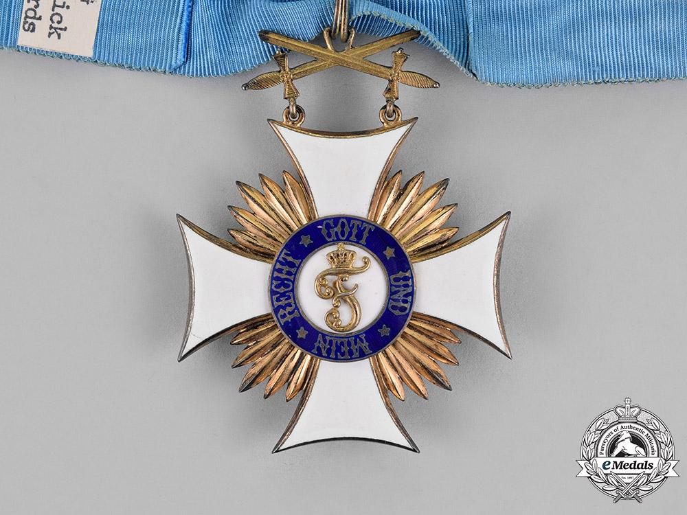 Württemberg, Kingdom. An Order of Friedrich, Commander's Cross with Swords, c.1914