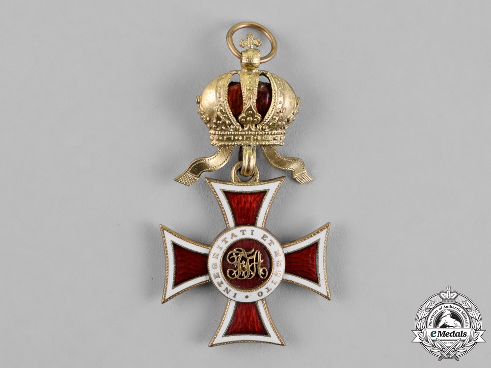 Austria, Imperial. A Leopold Order, Knight's Cross, with Small Decoration, c.1915