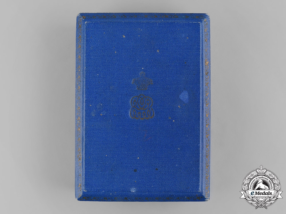 Egypt, Kingdom. An Order of the Nile, IV Class Officer Case, by J.Lattes