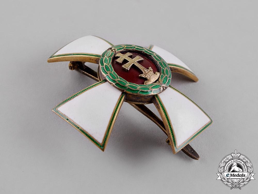 Hungary, Kingdom. An Order of Merit, Officer Cross, c.1940