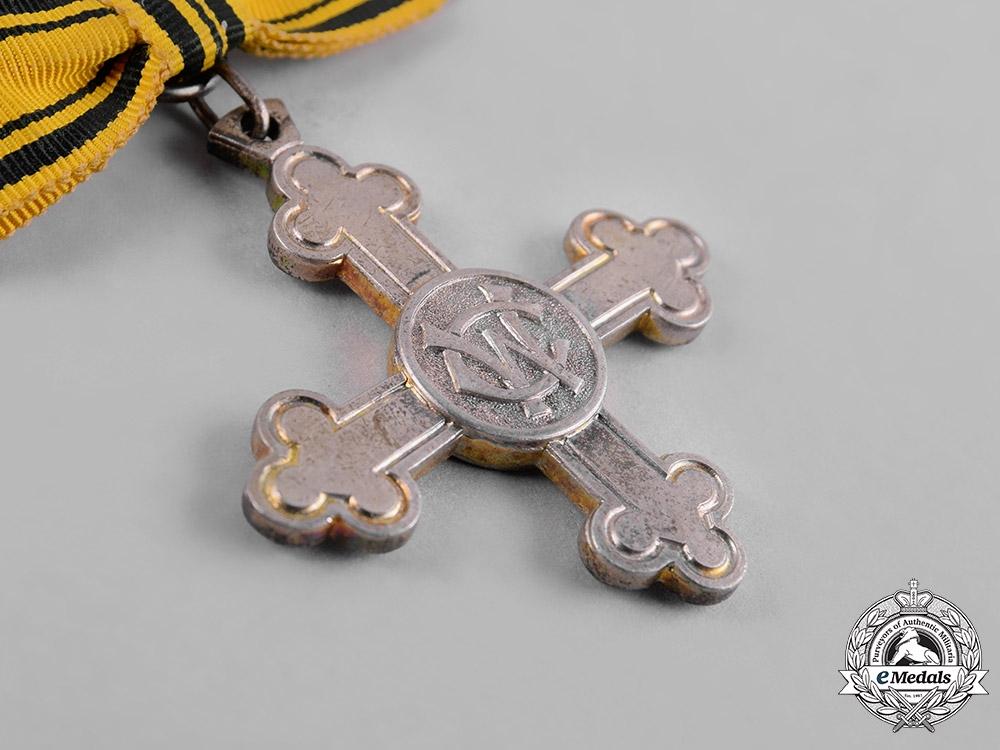 Württemberg, Kingdom. A Charlotte Cross