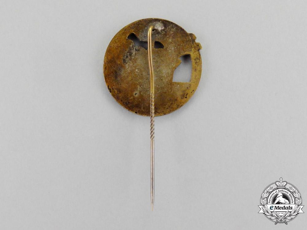 Germany, Kreigsmarine. A Blockade Runner Badge Miniature Stick Pin