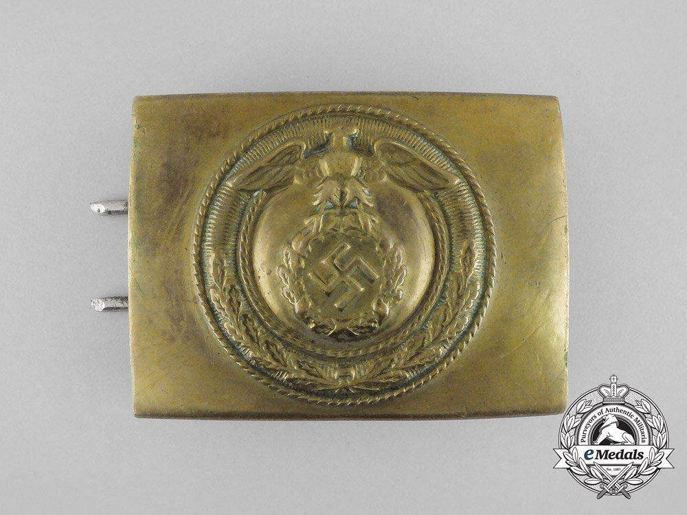 An SA Enlisted Man's Belt with Buckle