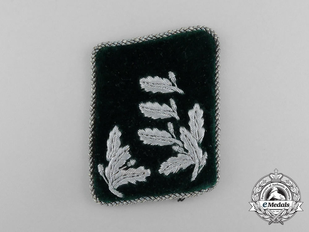 A Single German Forstmeister Rank Collar Tab