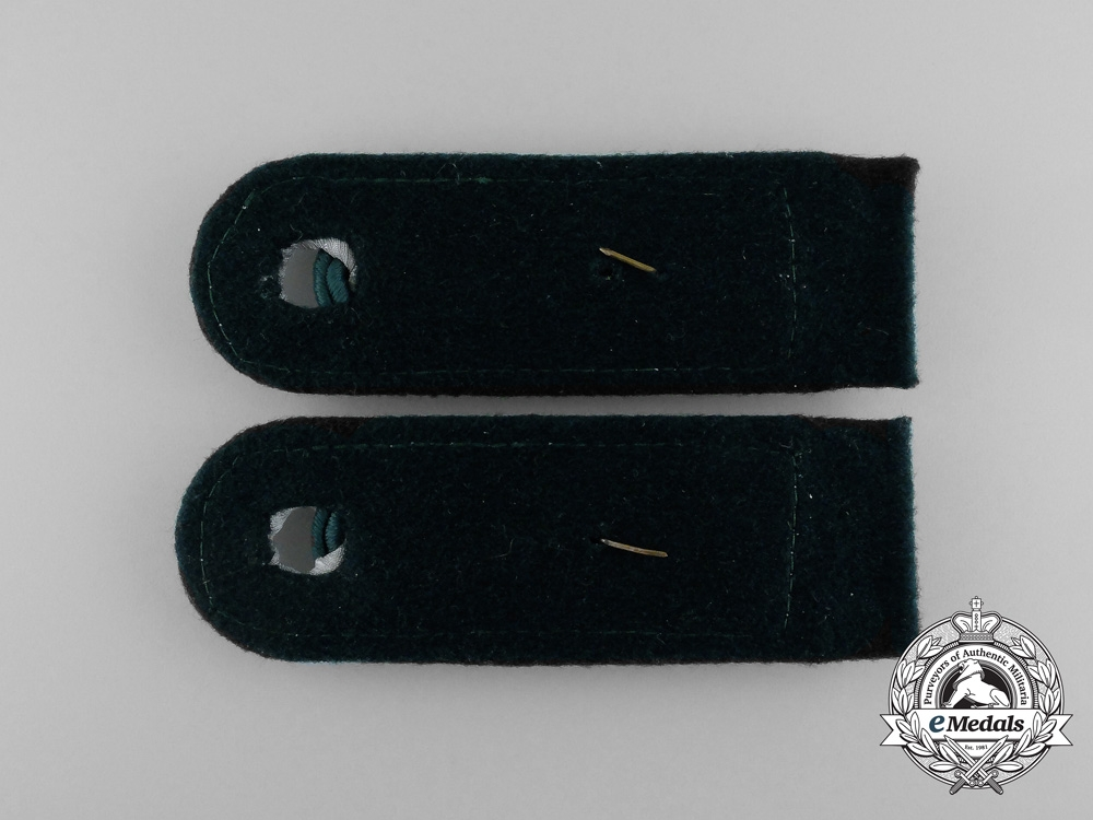 A Set of German Collar Tabs of a Private Forestry Service Official