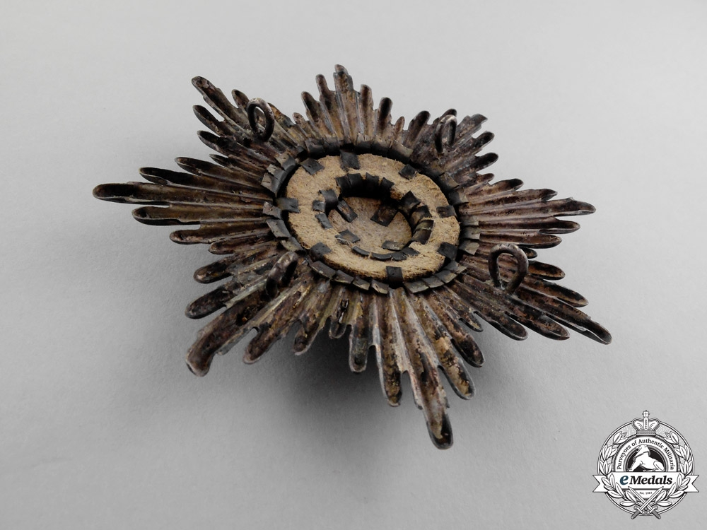 Prussia. An Emblem from an 1895 Prussian Guards Officer's Pickelhaube