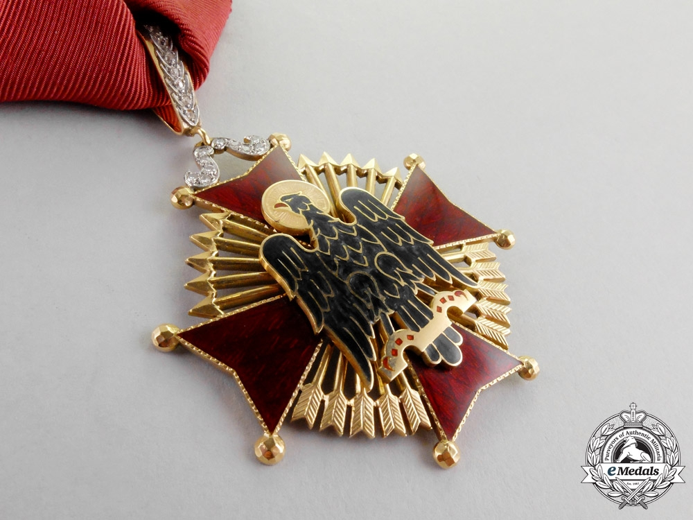 Spain. An Order of Cisneros in Gold & Brilliance, Commander, c.1974