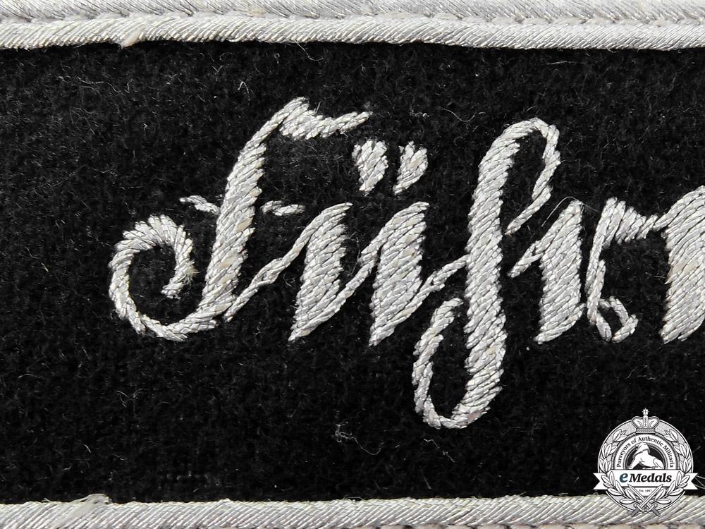 "A Rare ""Führerhauptquartier"" Führer Headquarter Personnel's Cufftitle"