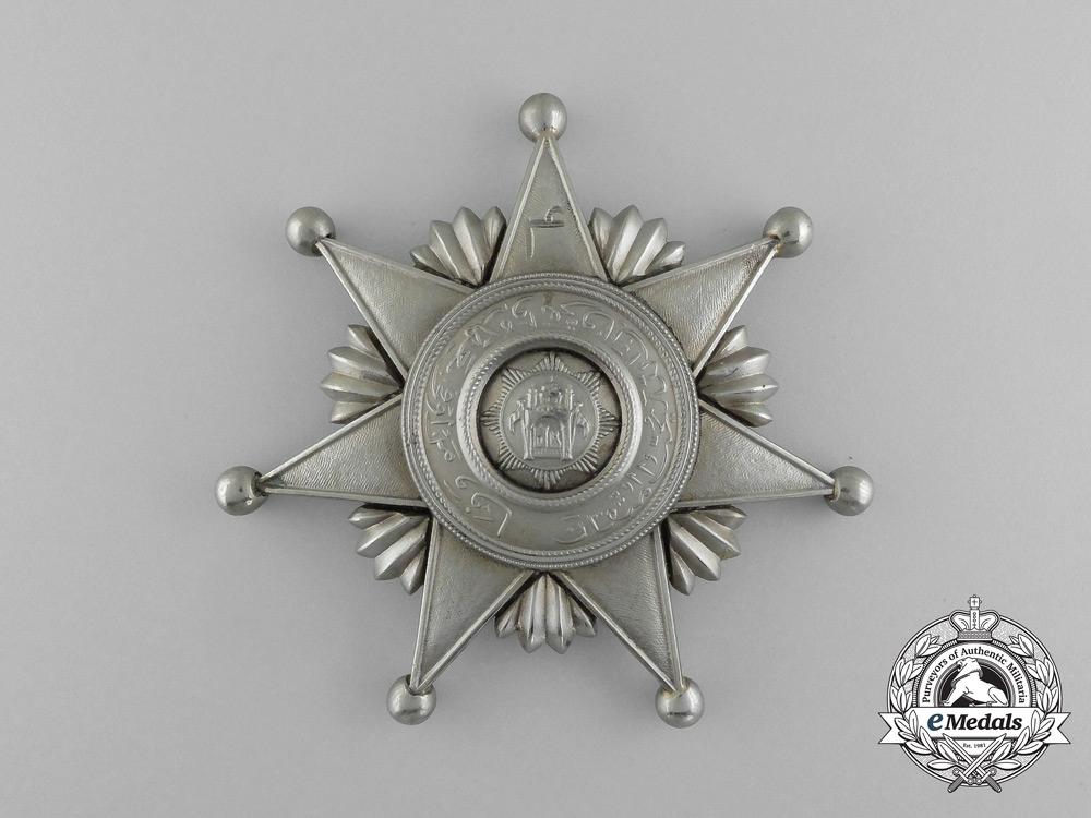 Afghanistan, Kingdom. An Order of Fidelity, II Class Star, c.1935