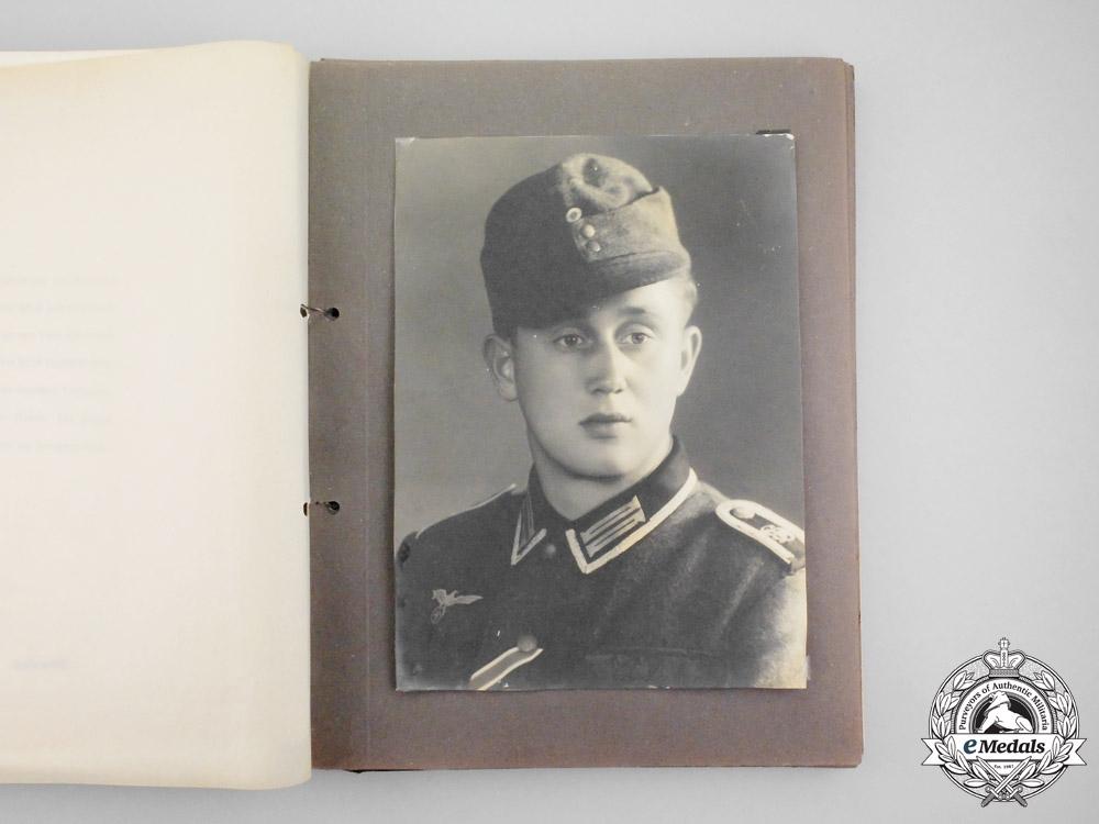 """An Fantastic Honour Chronicle for the """"Großdeutschland"""" Regiment; Gefreiter Karl Heinz Wedekind"""