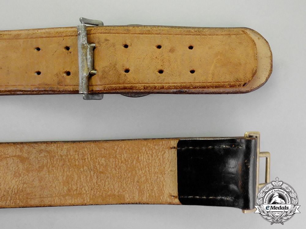 Germany. A National Penal Service Official's Belt with Buckle by C. E. Junker