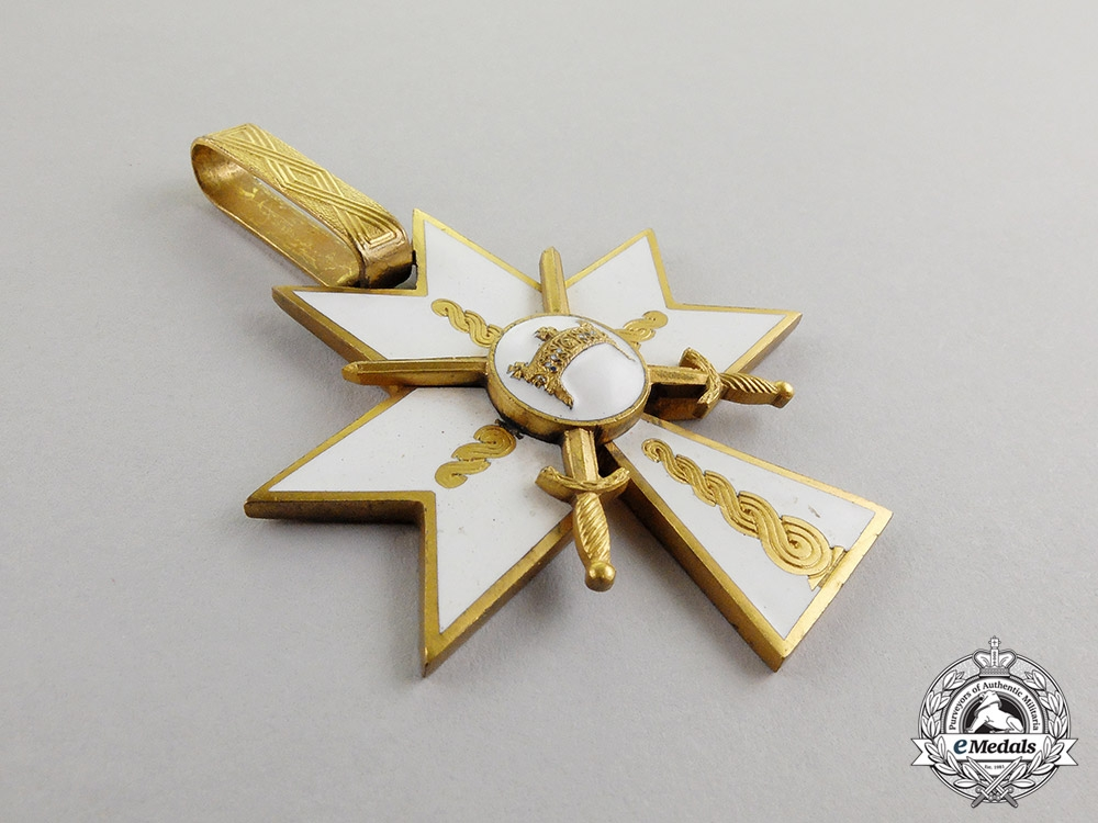 Croatia, Independent State. An Order of King Zvonimir's Crown, I Class with Swords, c.1942