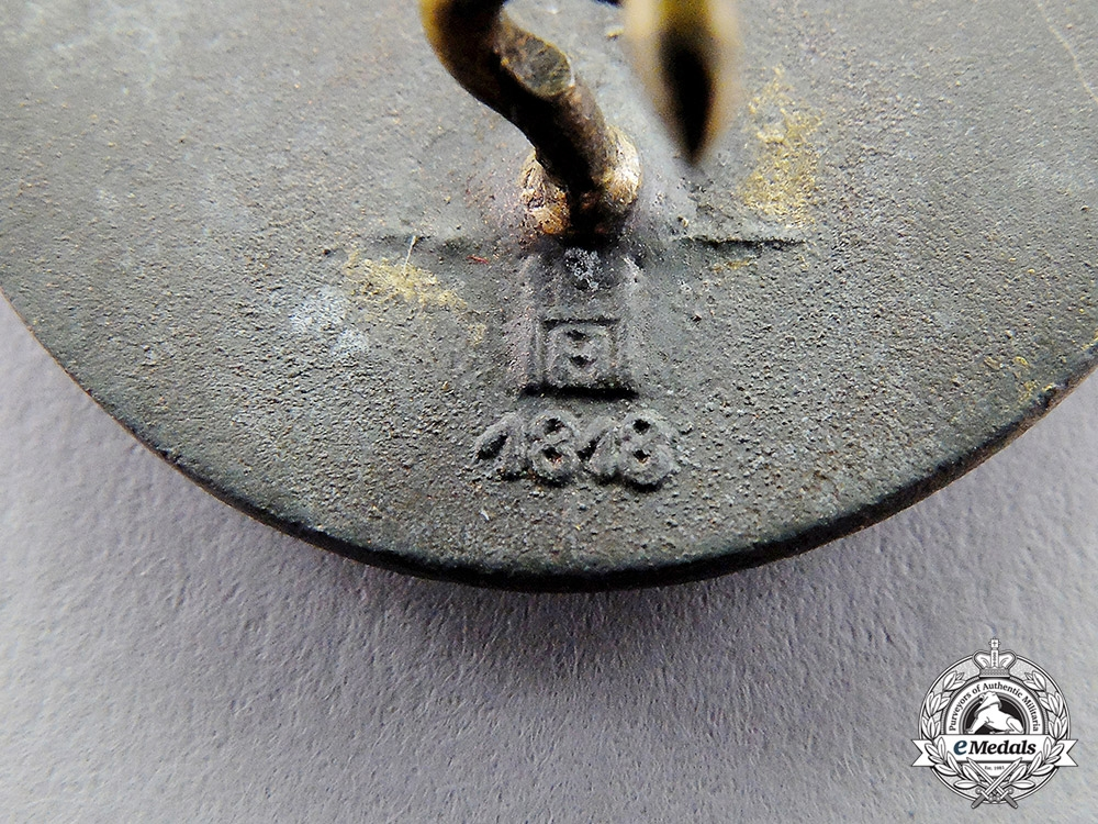 """Germany. A Reichsnährstand """"Blood and Soil"""" 25-Year Long Membership Badge"""