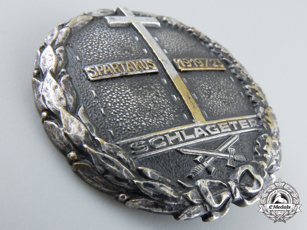 A 1923-24 Schlageter Badge; First Version by Paul Kust