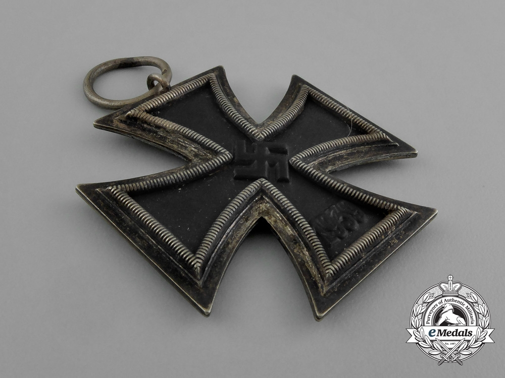 An Austrian Made Iron Cross 1939 Second Class by Friedrich Orth in its Original Packet of Issue