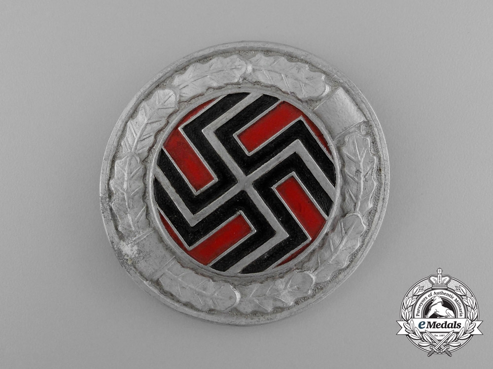 A Fine Second War Sleeve Badge for Members of the Wehrmacht Croatian Regiment