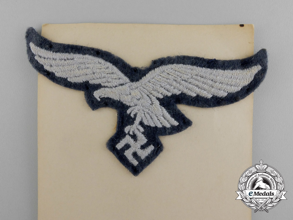 A Luftwaffe NCO/EM Breast Eagle on its Original Salesman Board