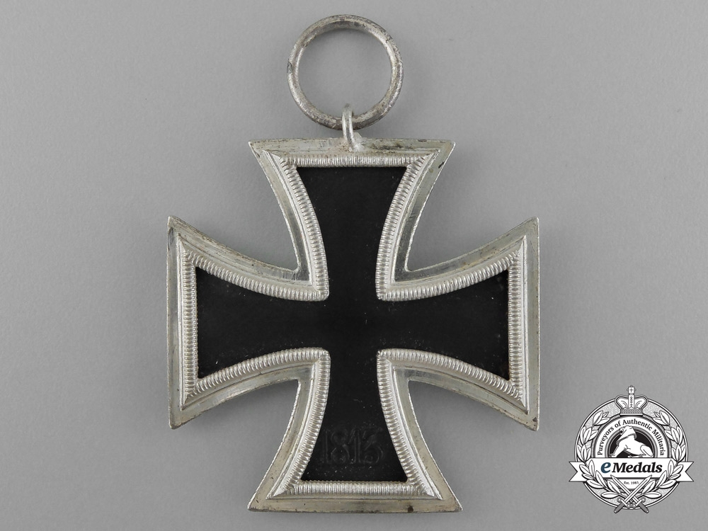 A Mint Iron Cross 1939 Second Class by Scarce Maker Berg & Nolte in its Original Packet of Issue