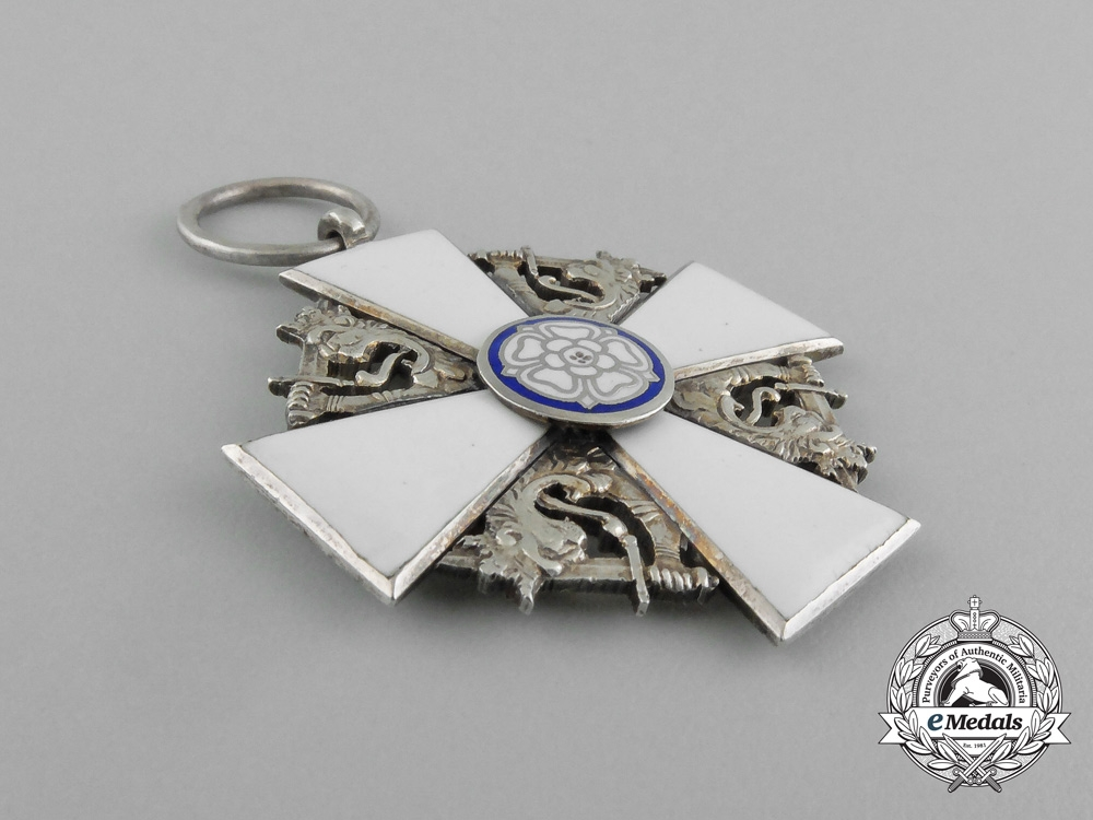 A Finnish Order of the White Rose, Knight 2nd Class