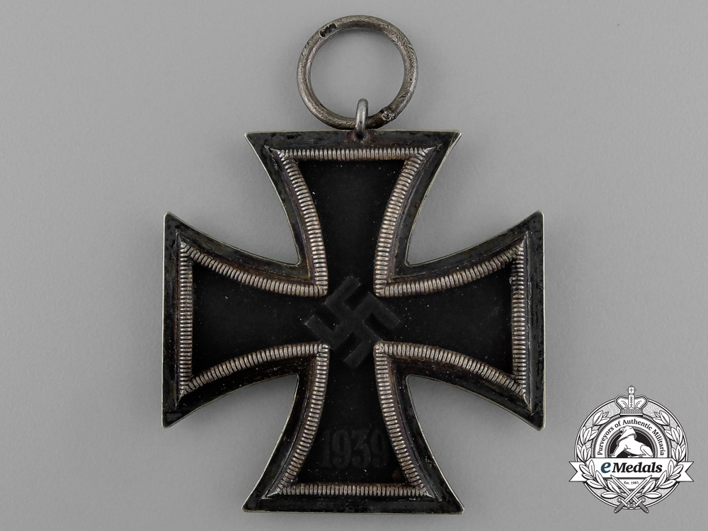 An Iron Cross 1939 Second Class by Gottlieb Wagner of Idar Oberstein