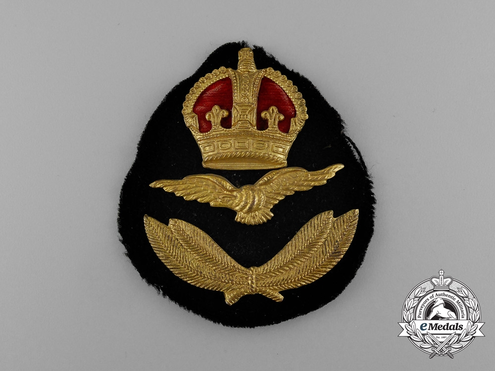 A South African Air Force (SAAF) Officer's Cap Badge