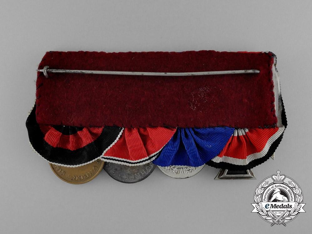 A Luftwaffe Medal Bar of Four