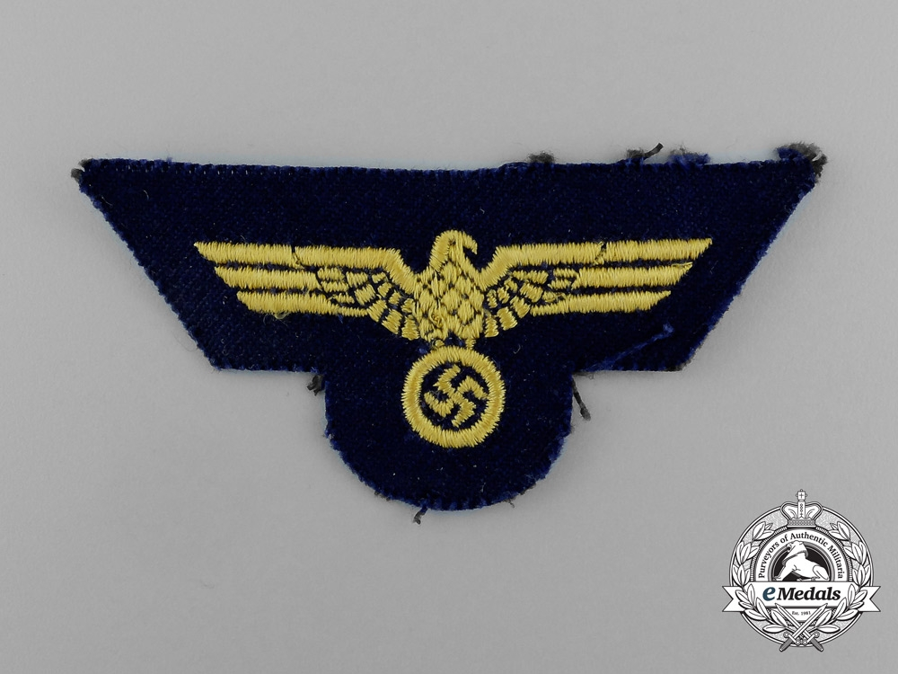 A Kriegsmarine NCO's Breast Eagle