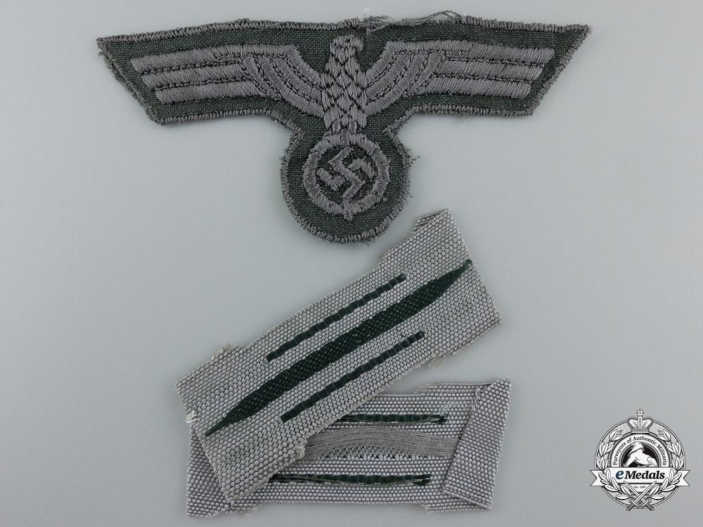 A Set of Mint German Army Insiginia