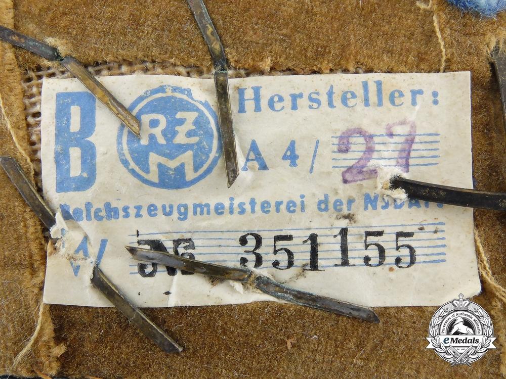 An NSDAP Local (Orts) Level OberGemeinschaftsLeiter (Head Community Leader) Collar Tab