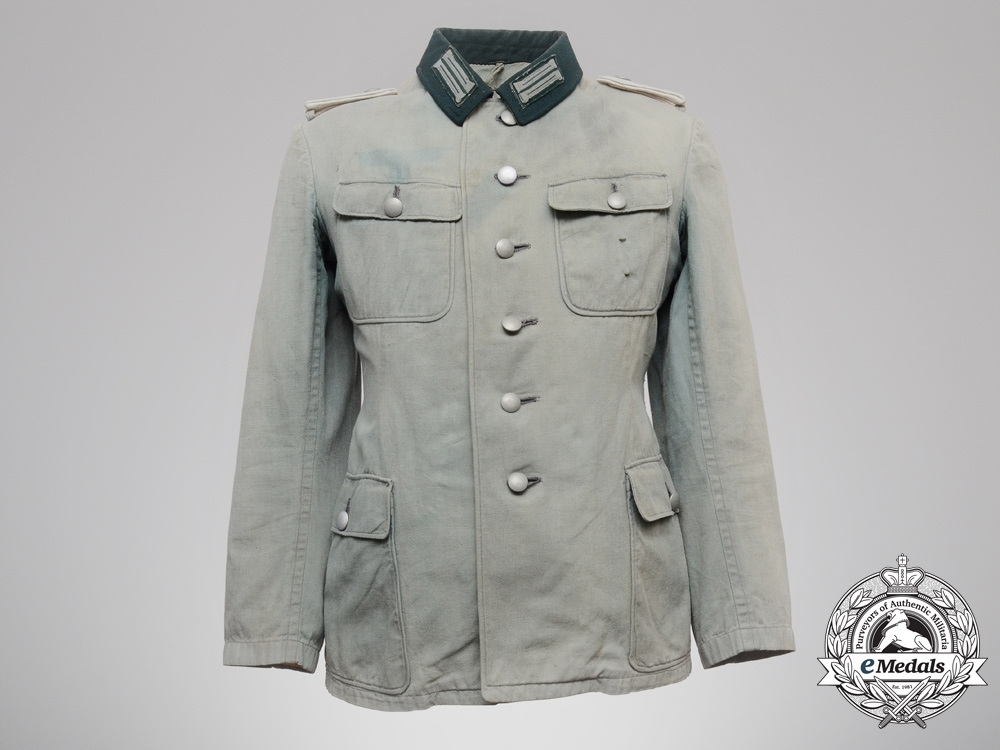 A Heer Infantry Leutnant Southern Front Troops Officer's Summer Field Tunic