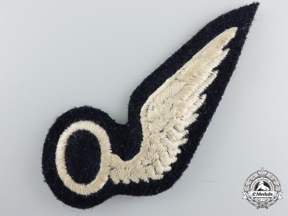 A Second War Royal Air Force (RAF) Observer (O) Wing