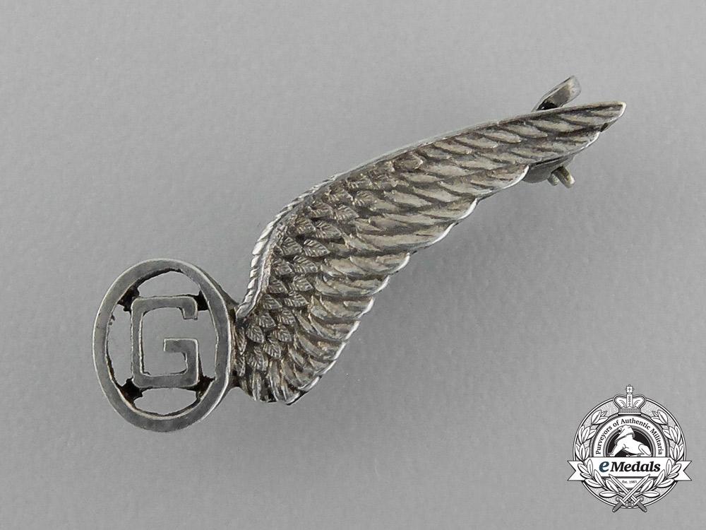 A Royal Air Force (RAF) Miniature Glider Pilot Wing