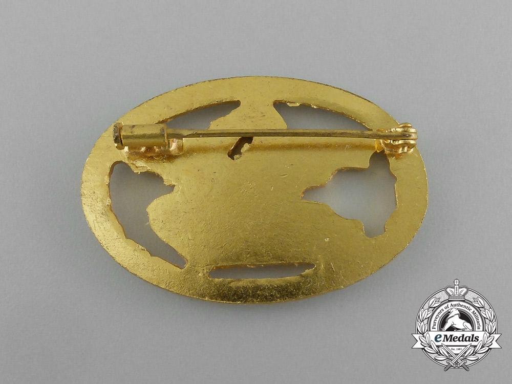 A Mint Second War Italian Commander's Tank Badge
