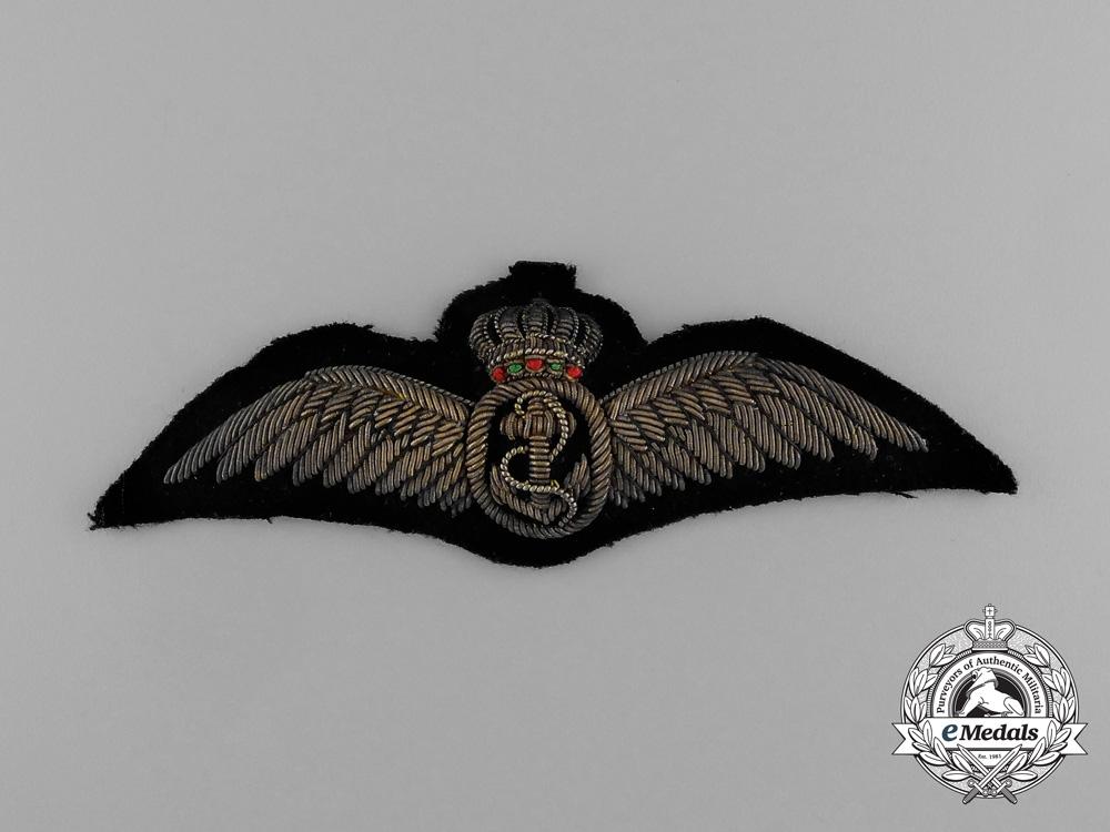 A First War Royal Danish Naval Pilot Badge, c.1918
