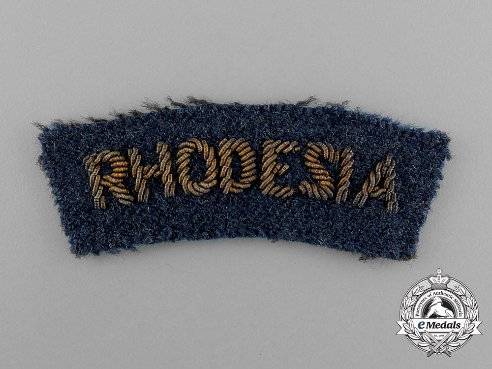 Four Royal Rhodesian Air Force (RRAF) Items