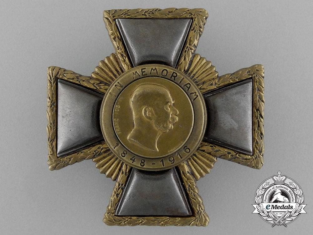 "Austria, Kingdom. A Franz Joseph ""Weiland"" Cross, I Class, by R. Marschall"