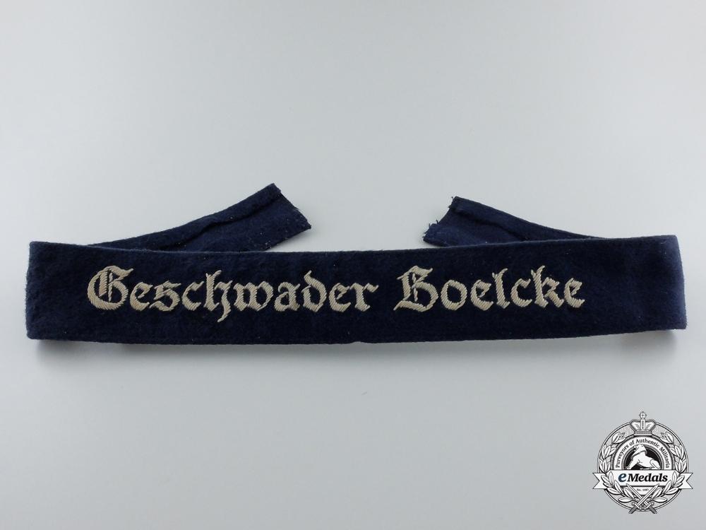 A Luftwaffe Geschwader Boelcke Officer's Cufftitle