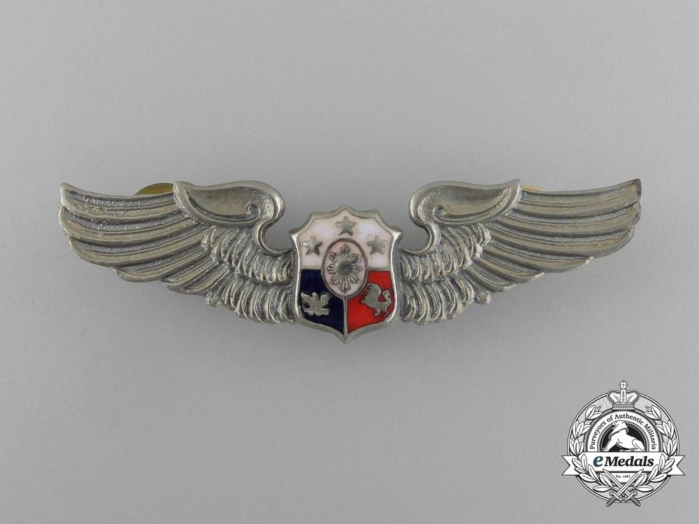 A Philippine Air Force Pilot Badge